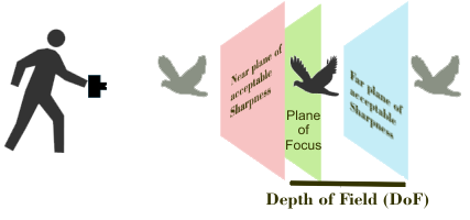 Zone of Acceptable Sharpnes is called Depth of Field